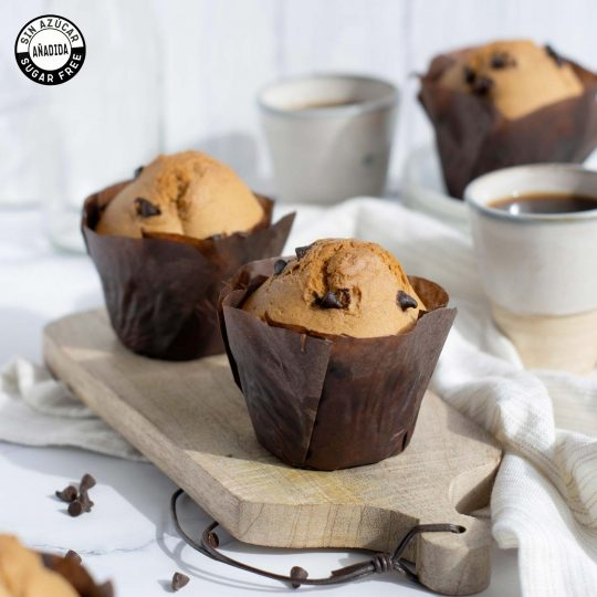 Muffins chips chocolate